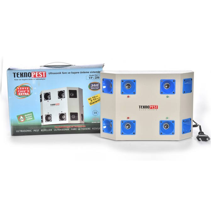 TP-250-TP-250 Ultrasonic Mouse and Pest Repeller